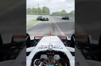 Невероятная реакция водителя спорткара