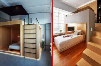 Самые удобные спальни и мебель для них