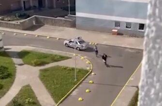 Скутерист переиграл полицейского и сбежал от погони