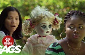 Безумно страшный розыгрыш с куклой из фильма ужасов
