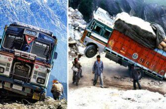 Большие удачи и провалы на дорогах с грузовиками