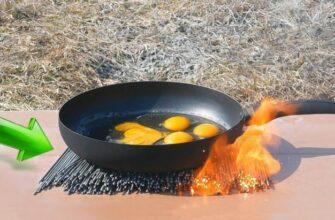 Как приготовить яйца на бенгальских огнях