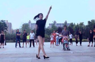 Красавица Цинцин красиво танцует на каблуках