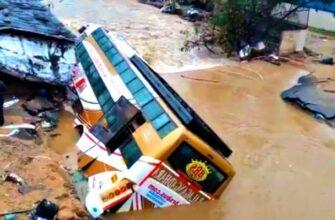 Самые опасные переправы грузовиков которые не всегда заканчиваются удачно