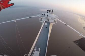 Экскурсия на вершину высокого моста пошла не по плану