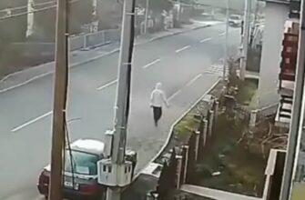 Иногда даже тротуар небезопасен