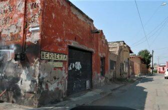 Как выглядят улицы в Мексике где живут обычные люди