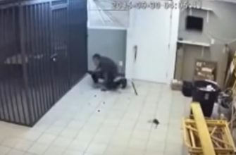 Владелец магазина поставил ловушку чтобы поймать вора