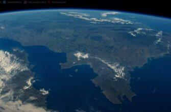 Земля из космоса в 4K-видео с МКС