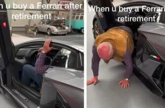 Когда купил Ferrari но не знаешь как из нее выйти