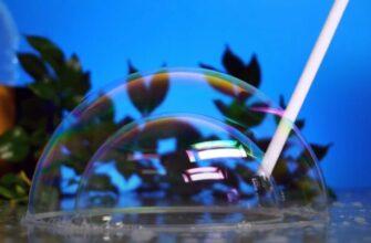 5 удивительных трюков с мыльными пузырями