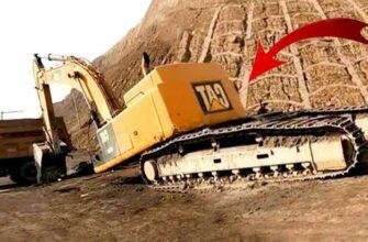 Большие неудачи с экскаваторами и тракторами