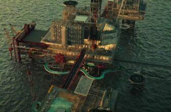 В Саудовской Аравии построят парк развлечений на нефтяной платформе